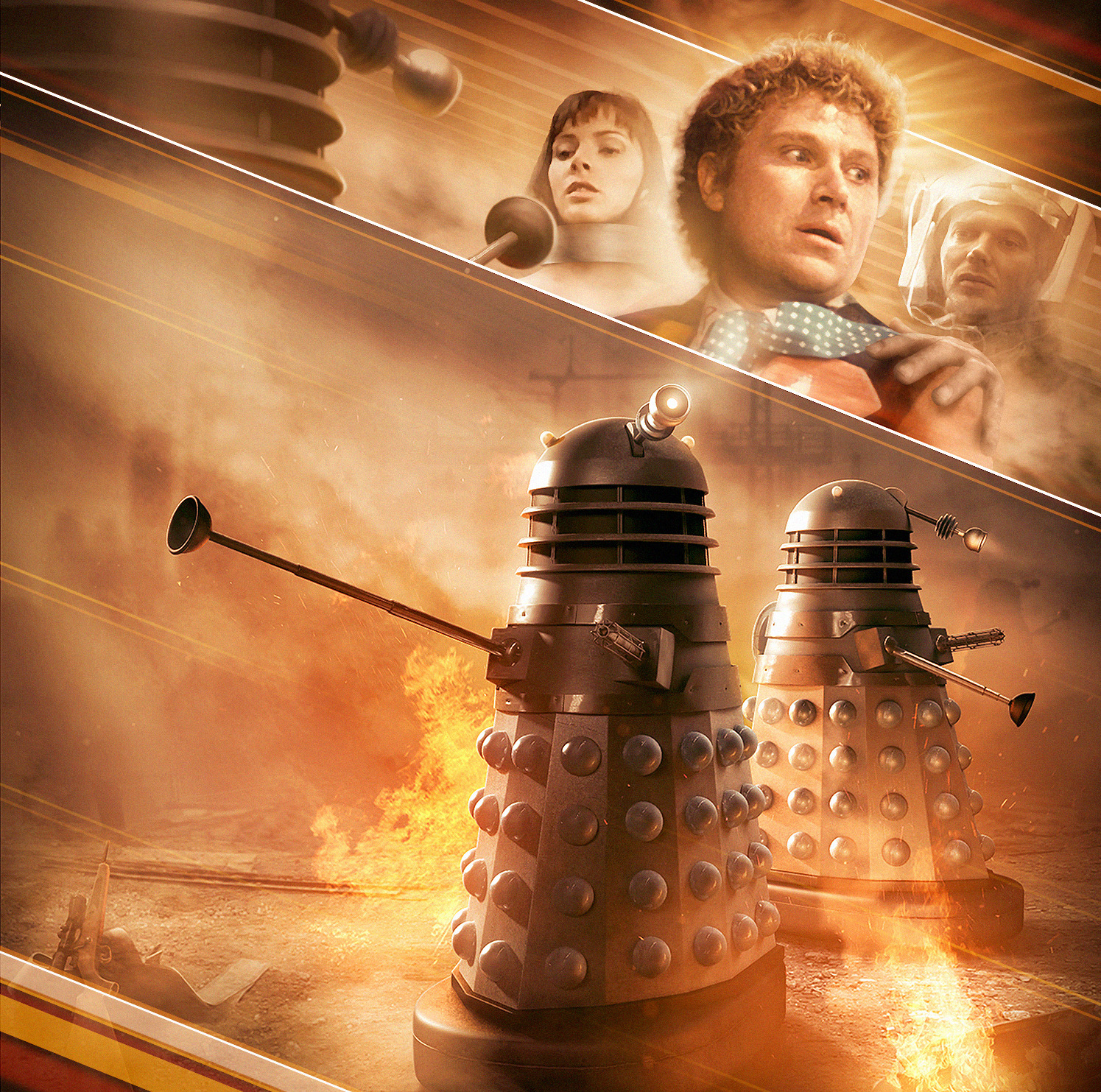 Anthony Lamb's beautiful original cover for Doctor Who: Masters of Earth can be downloaded from here.