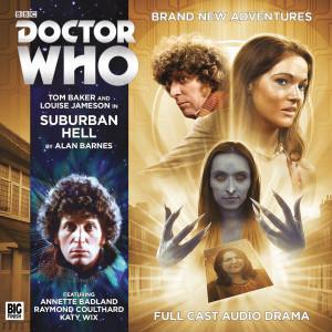 Doctor Who - Suburban Hell cover