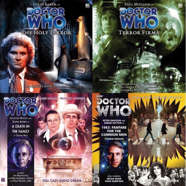 Doctor Who - Special Offers on the Top 20 Main Range Titles!