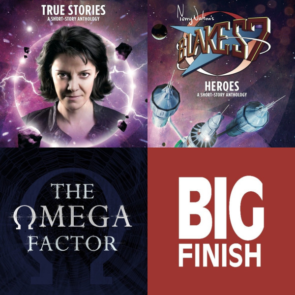 Big Finish Books: Bernice Summerfield, Blake's 7 and the Omega Factor!