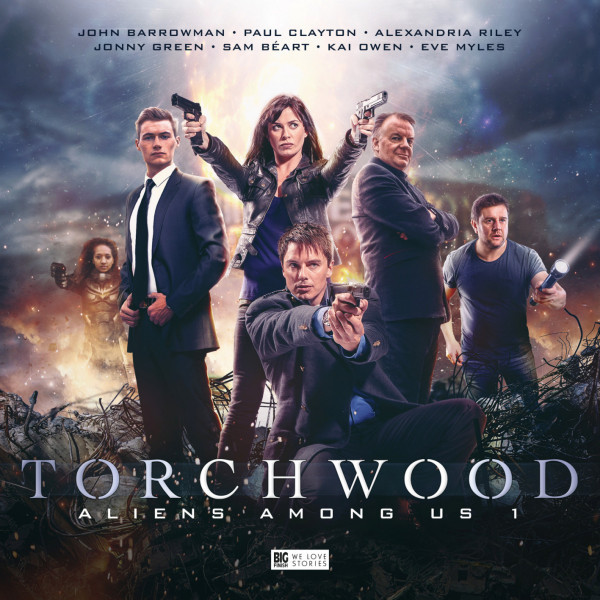 Torchwood - Series 5 - cover art and synopses revealed - News - Big
