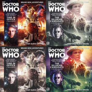 Doctor Who: Time in Office and The Silurian Candidate, both out now