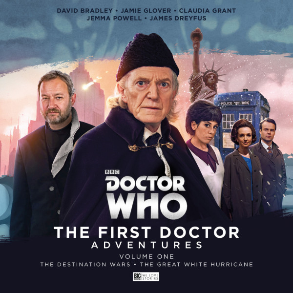 David Bradley returns to the TARDIS in Doctor Who - The First Doctor Adventures!