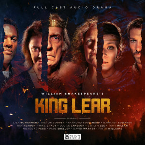 King Lear cover revealed plus chat from Lisa Bowerman