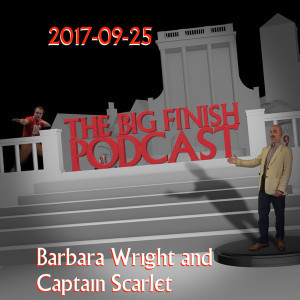 2017-09-25 Barbara Wright and Captain Scarlet