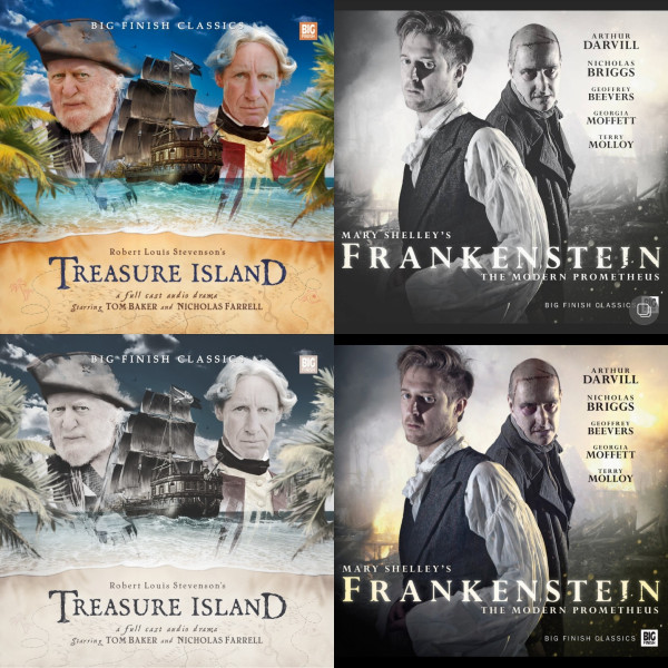 12 Days of Big Finishmas #8 - Frankenstein and Treasure Island