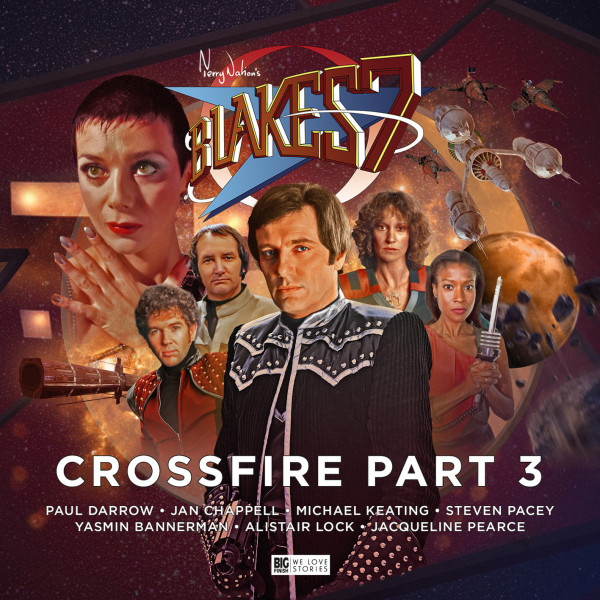 Out now - Blake's 7: Crossfire 3