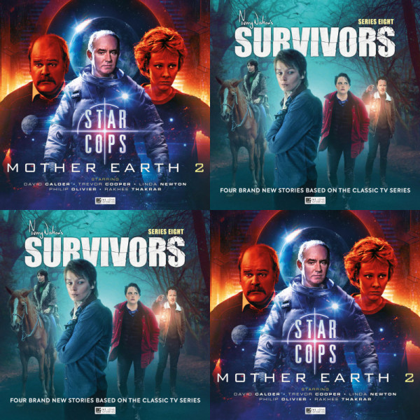 Star Cops and Survivors Covers Reveal