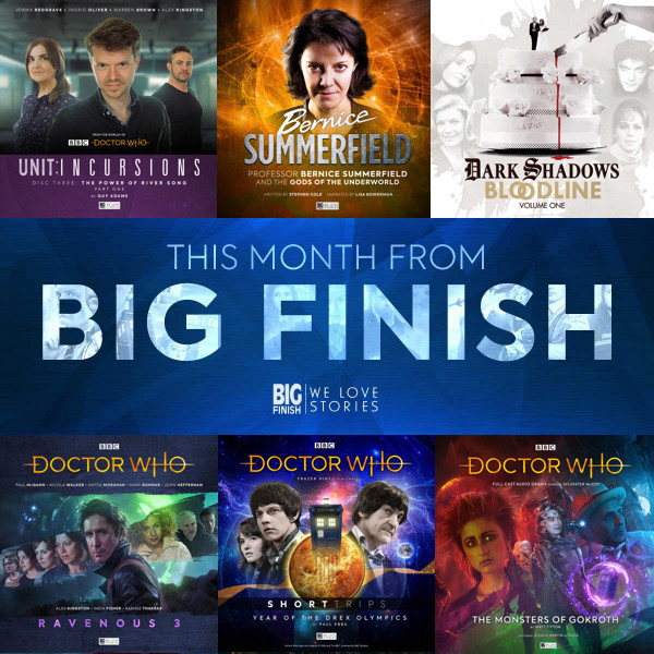 This Month From Big Finish - April 2019
