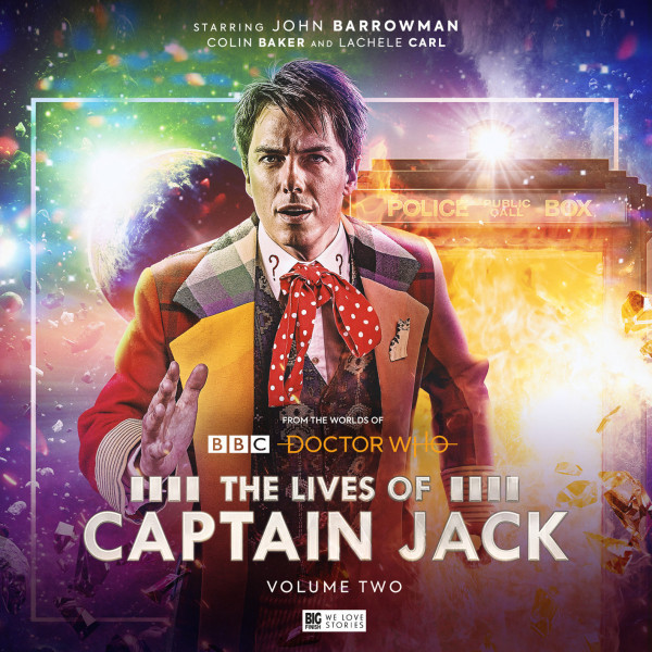 John Barrowman as Captain Jack is back, better dressed than ever!
