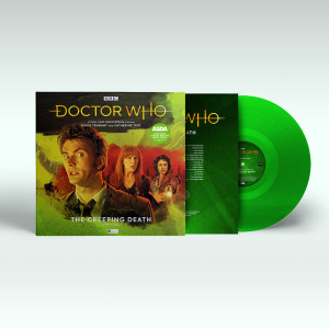 ASDA stores stocking Doctor Who The Creeping Death on vinyl