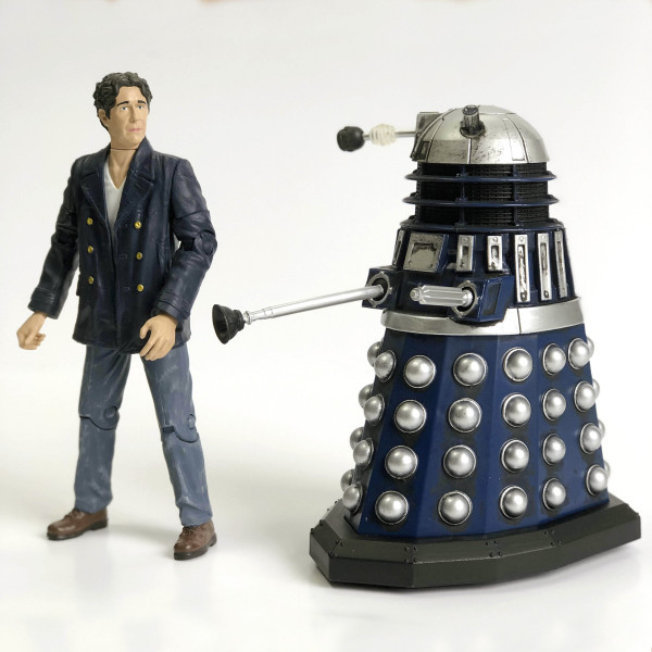 Character Options' Big Finish Doctor and Dalek Set
