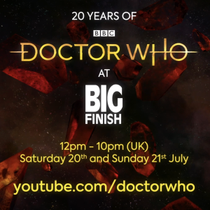 Livestream Schedule - #BigFinish20at20