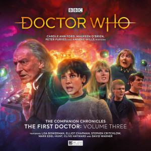 First Doctor era continues on audio…