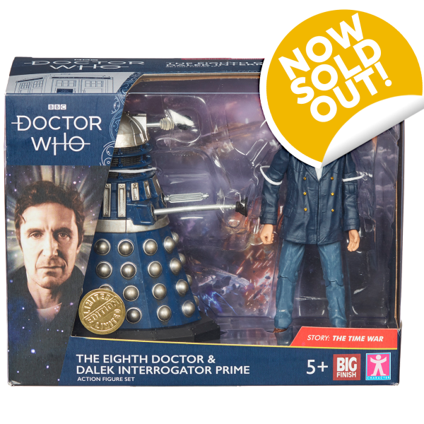 SOLD OUT! Big Finish Doctor Who action figures!