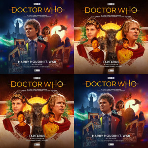 Two classic Doctor Who adventures – out today