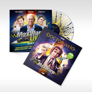 ASDA stores stocking Doctor Who Max Warp on vinyl