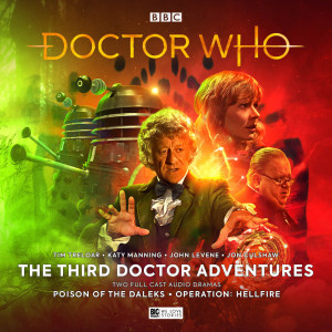 Two new Third Doctor adventures released today!