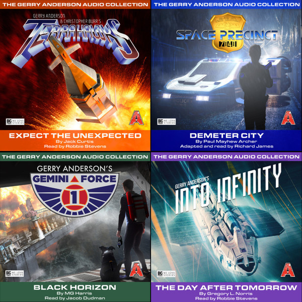 New Gerry Anderson audiobooks are GO!