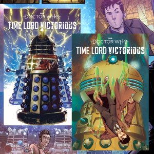 Time Lord Victorious comics revealed!