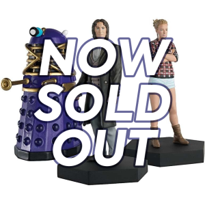 LIMITED STOCK! Lucie Miller and the Eighth Doctor figurines