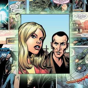 The Ninth Doctor and Rose join Time Lord Victorious