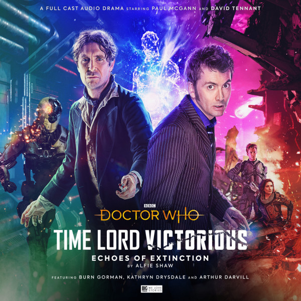 Time Lord Victorious! David Tennant and Paul McGann double LP!