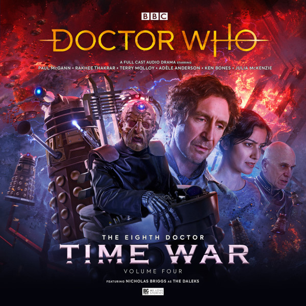 Paul McGann and Terry Molloy in Doctor Who - Time War 4