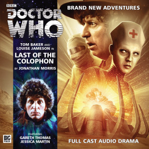 Doctor Who: Last of the Colophon Cover
