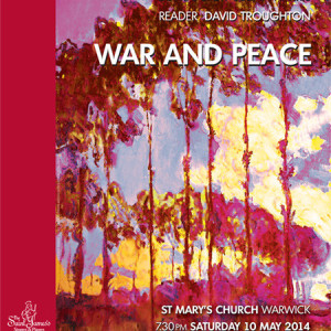 War and Peace Charity Concert Featuring David Troughton