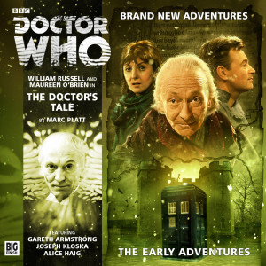 Second Cover for Doctor Who: The Early Adventures Revealed