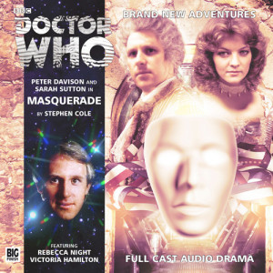 The Fifth Doctor and Nyssa attend a Masquerade!