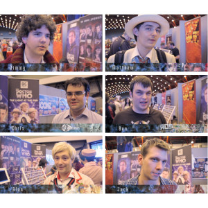 Comic Con - Big Finish Doctor Who Fan Interviews