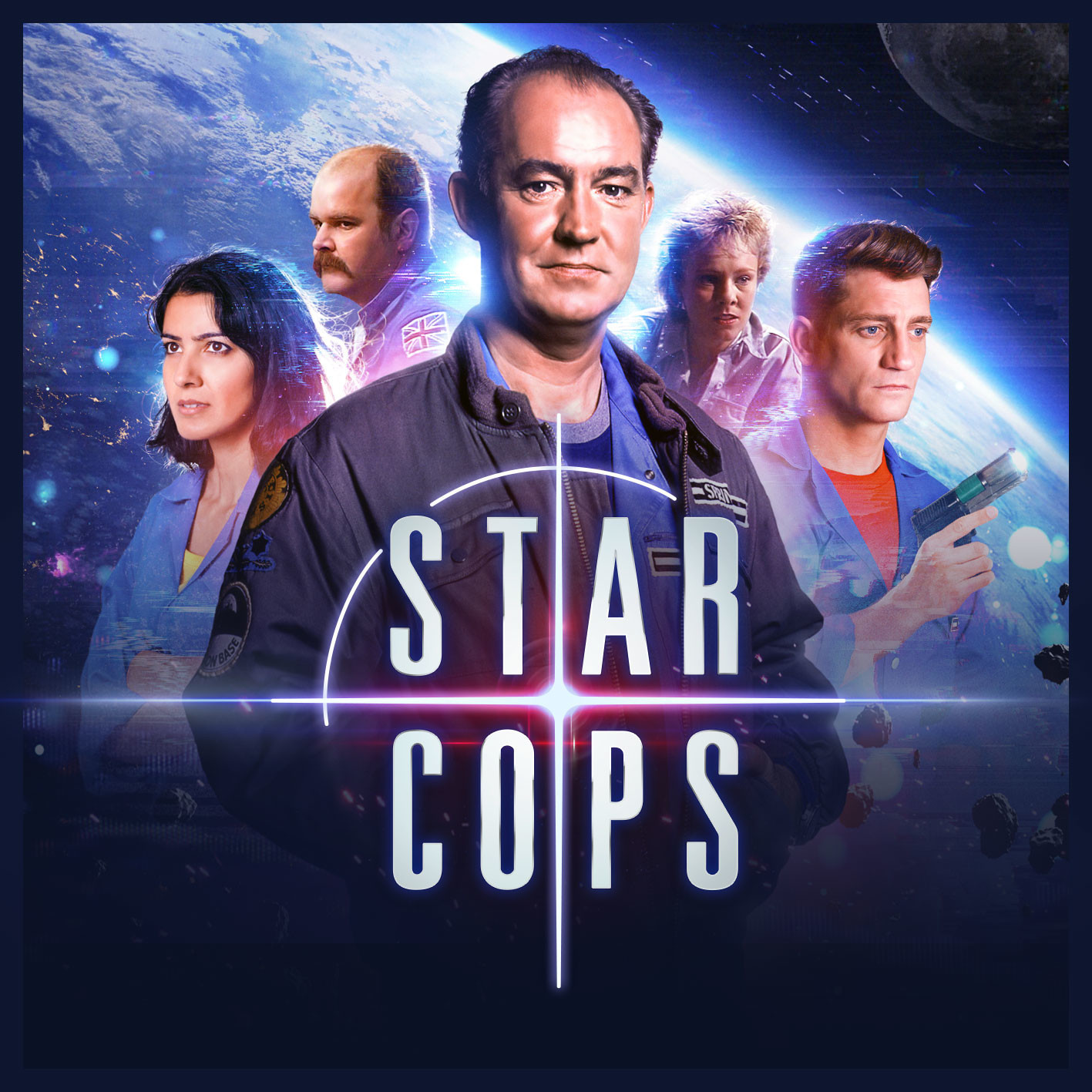 Star Cops - Mother Earth - Remixed with original theme tune - Big Finish