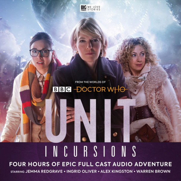 BF - Doctor Who Spinoff - U.N.I.T. Series 8 (Incursions) - Jonathan Morris, Lisa McMullen, Guy Adams