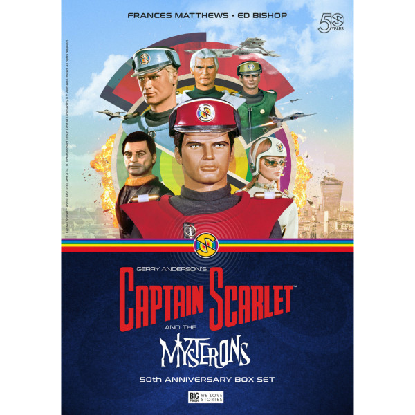 Captain Scarlet and the Mysterons (50th Anniversary Deluxe Box Set)