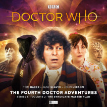 Doctor Who: The Fourth Doctor Adventures Series 08 The Syndicate Master Plan Volume 2