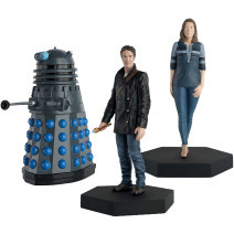 Eaglemoss: Eighth Doctor, Liv Chenka and Dalek Figurine Set