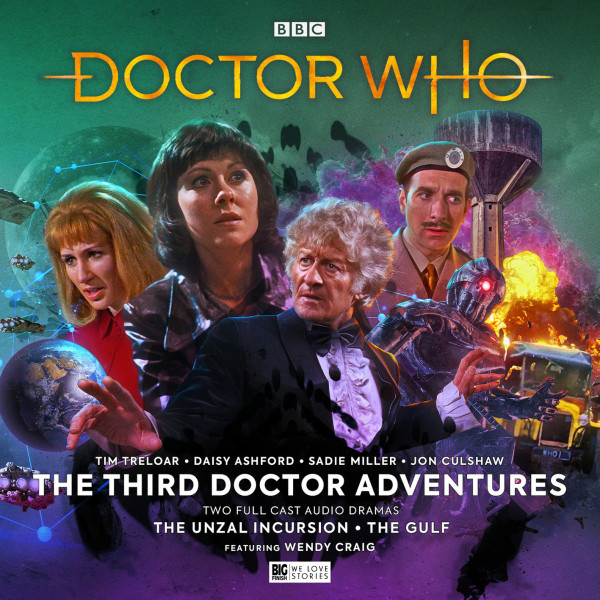 Doctor Who: The Third Doctor Adventures Volume 07