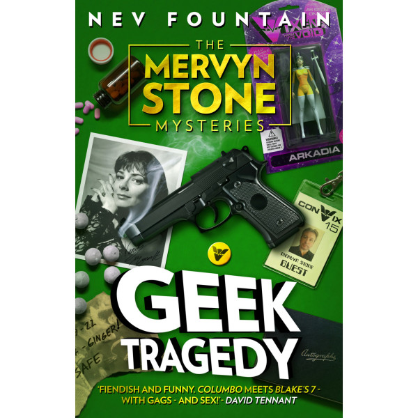 The Mervyn Stone Mysteries: Geek Tragedy (Paperback)