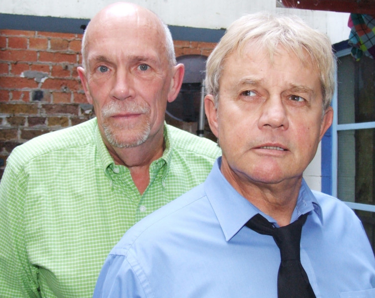 Hugh Ross and Frazer Hines