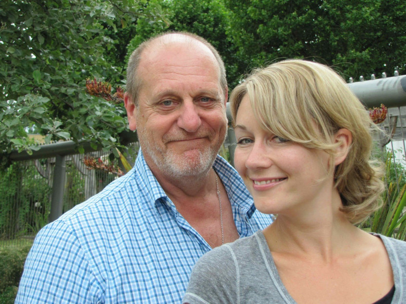 David Troughton and Anna Hope