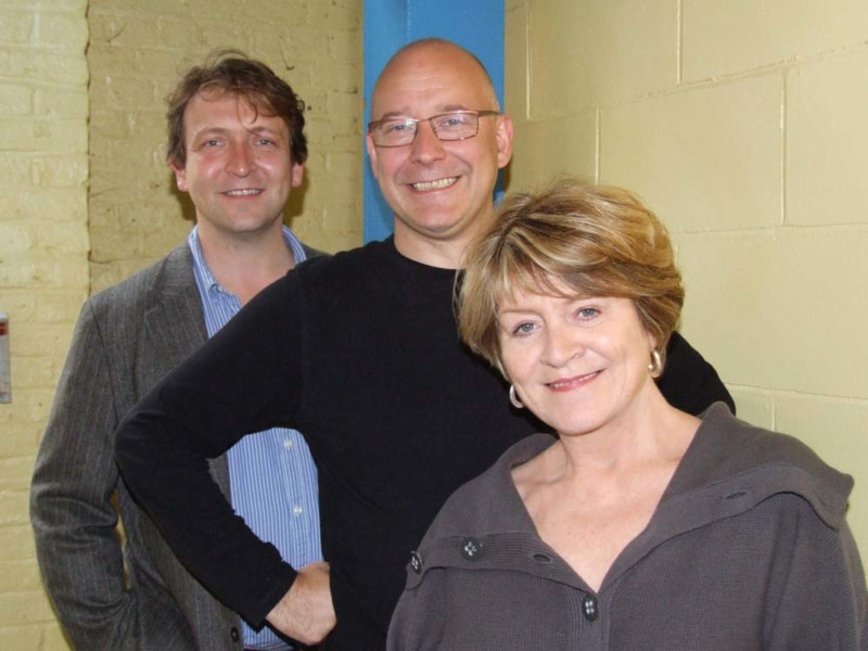 Alex Lowe, Toby Longworth and Susan Brown