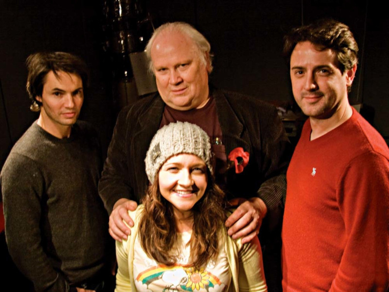Tam Williams, Colin Baker, Gemma Wardle and Matt Addis