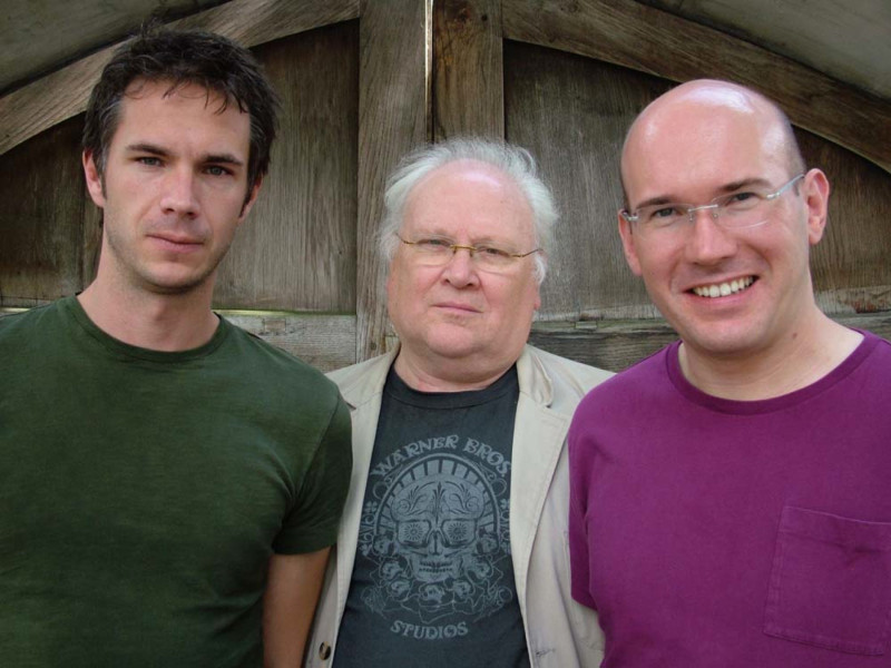 James D'Arcy, Colin Baker and Alex Macqueen