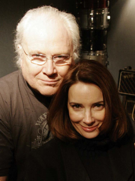 Colin Baker and Nicola Bryant