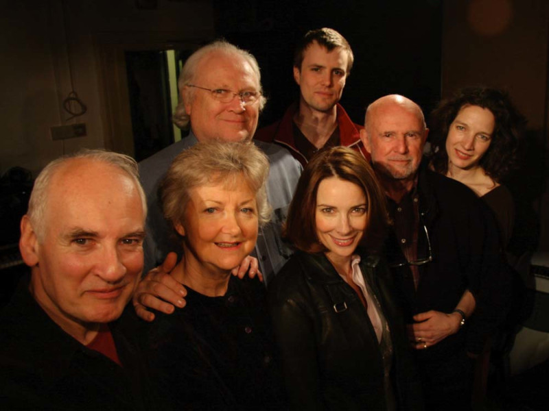 The cast of The Hollows of Time