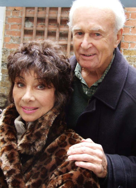 Carole Ann Ford and William Russell