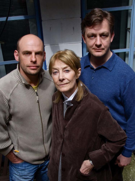 Chris Porter, Jean Marsh and Alan Cox in The Daleks