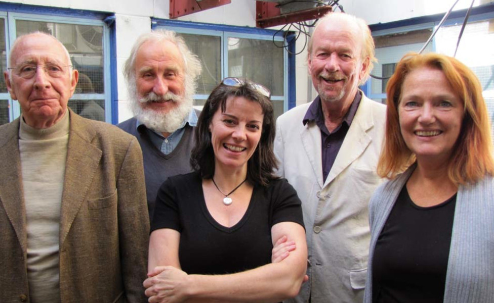 Trevor Baxter, Christopher Benjamin, Lisa Bowerman, Conrad Asquith and Louise Jameson